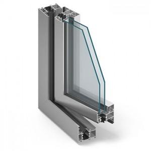 aliuminiai-langai
